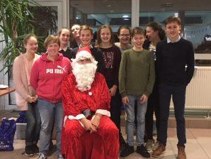 Kerstman bezoekt Mega Maldegem